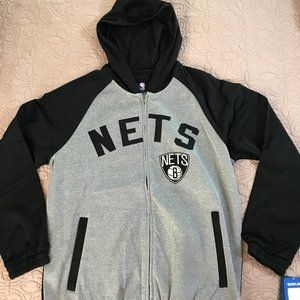 NWT NBA Brooklyn Nets Track Jacket
